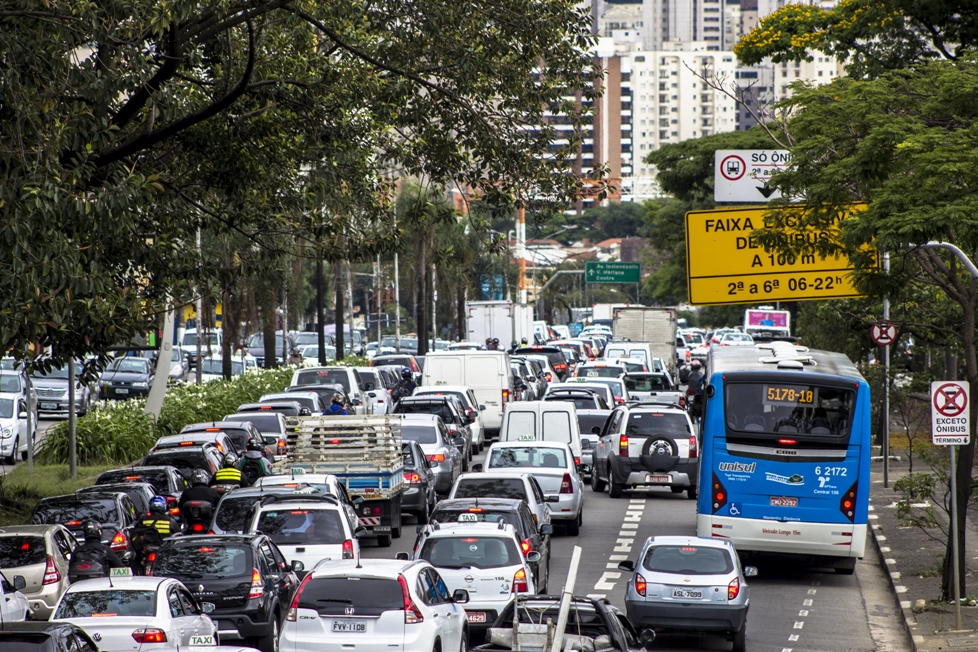 Inutile de dire qu'il vaut mieux éviter les grands axes de circulation, et courir le plus loin possible du trafic (crédit photo : AFNR, shutterstock.com)