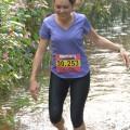 Petit passage dans un ruisseau, de quoi rafraîchir les pieds !
